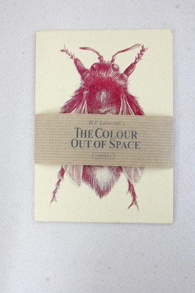 The Colour Out Of Space - Insects Postcard Set