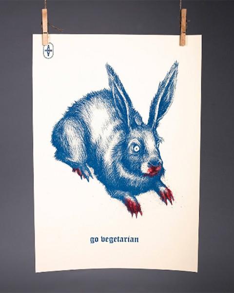 Go vegetarian hare